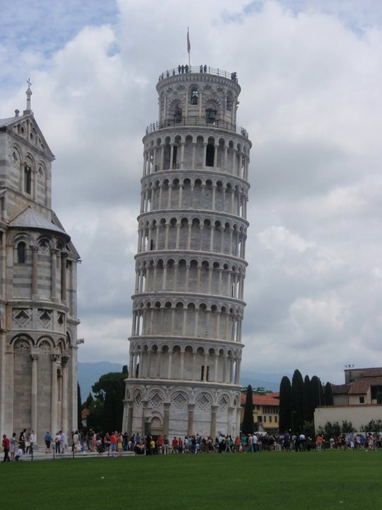 Pisa - so crowded. Not my favorite