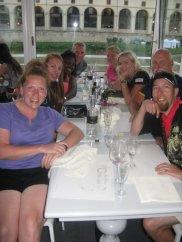 Dinner on the Arno river
