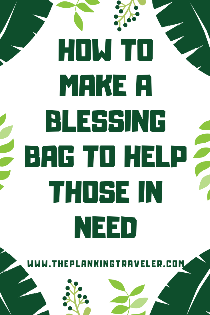 HOW TO MAKE A BLESSING BAG