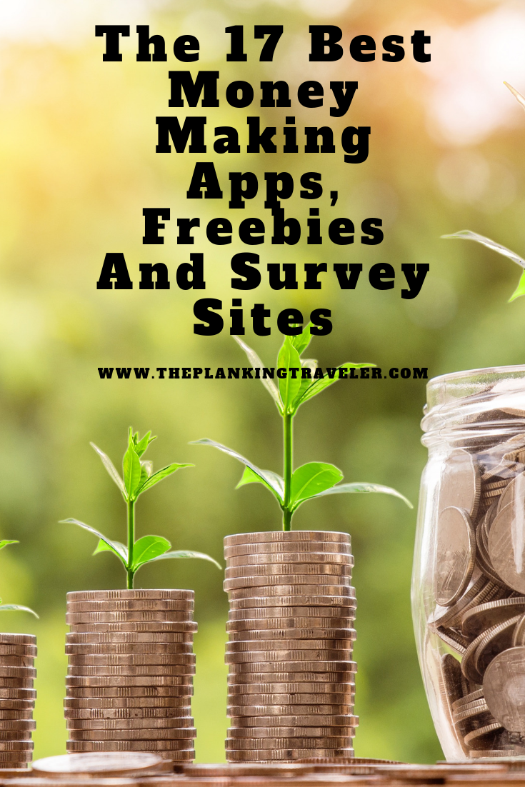 The 16 Best Money Making Apps, Freebies And Survey Sites (1)