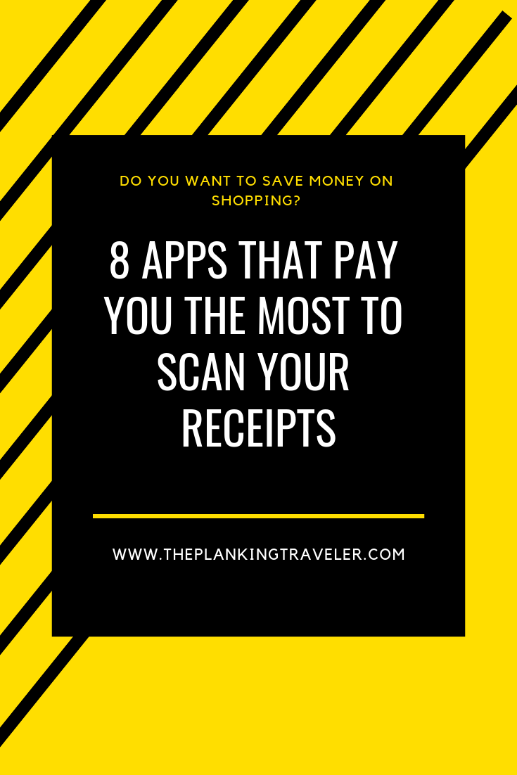 the 8 best apps that pay you for scanning you receipts