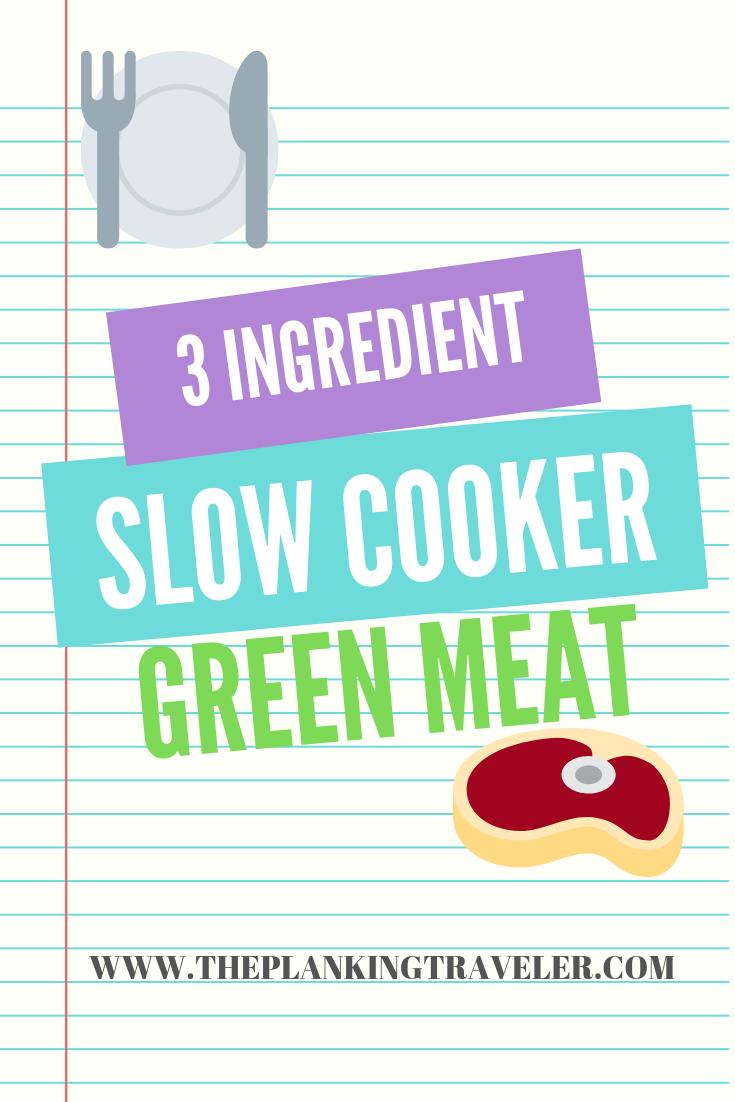 3 ingredient slow cooker salsa verde beef