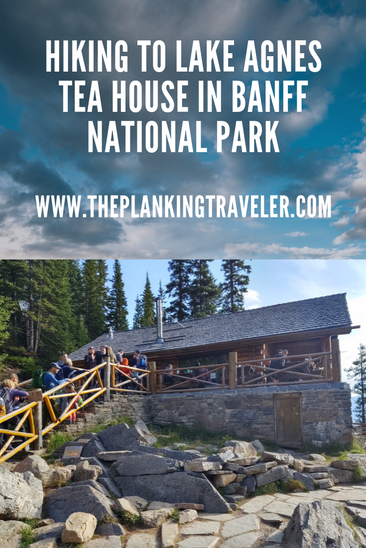 Camping At Lake Louise And Hiking To Lake Agnes Tea House in Banff National Park